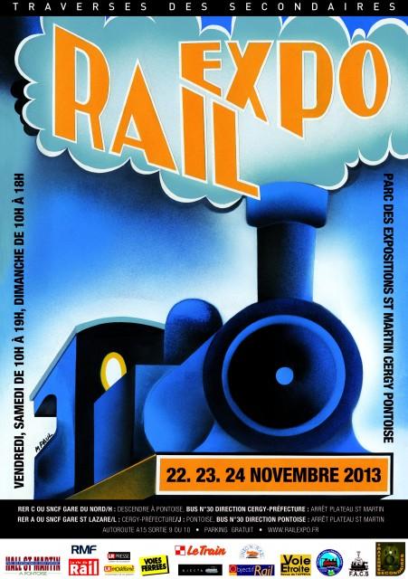 Visuel RAIL EXPO 2013 + bandeau