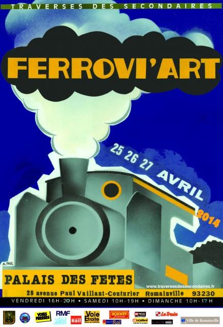 Visuel Ferrovi'Art 2014
