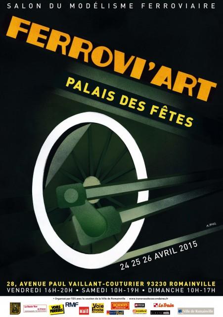 Visuel Ferrovi'Art 2015