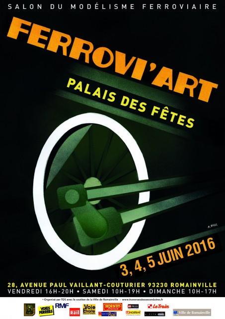 Visuel Ferrovi'Art 2016