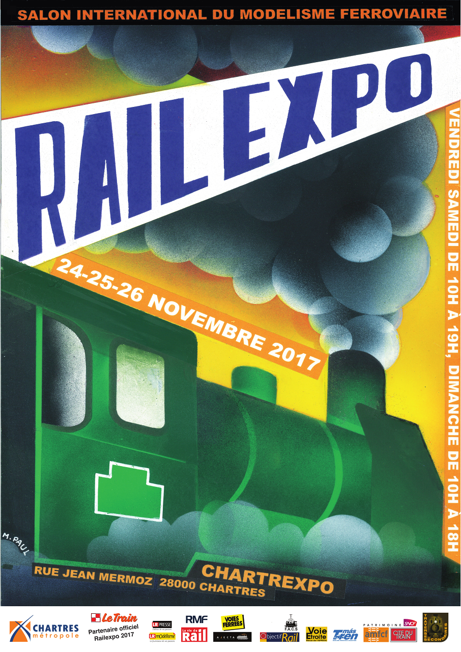 affiche Rail Expo 2017